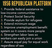 1956 GOP platform