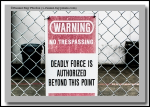 Deadly force is authorized