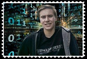 Joey Thaidigsman, freshman computer science major at the University of California at Berkeley