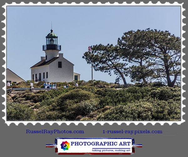 Lighthouse of 1854, Cabrillo National Monument, San Diego CA