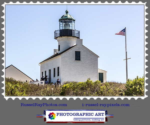 Lighthouse of 1854, Cabrillo National Monument, Point Loma, San Diego CA