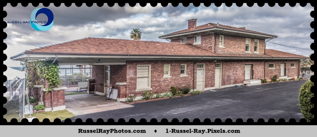 Former Del Mar railroad depot in use from 1910 to 1995.