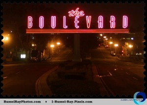 The Boulevard, San Diego, California