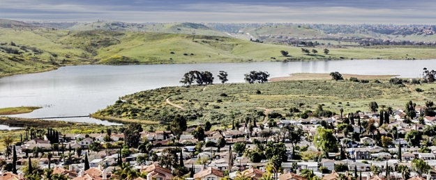 Sweetwater Reservoir near San Diego, April 3, 2010