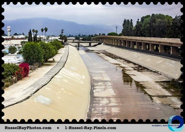 Los Angeles concrete river