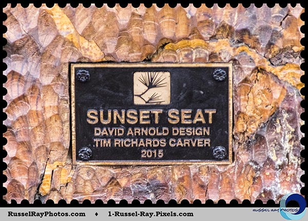 Sunset Seat in Del Mar, California