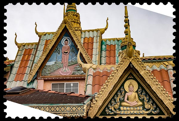 Buddhist Temple in San Diego, California