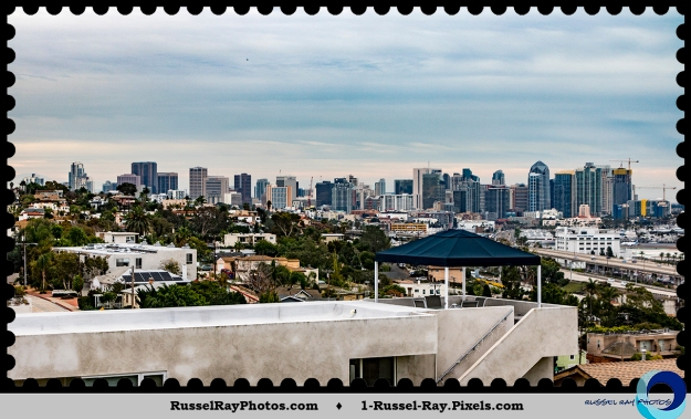 View from 1802 Puterbaugh Street, San Diego, California