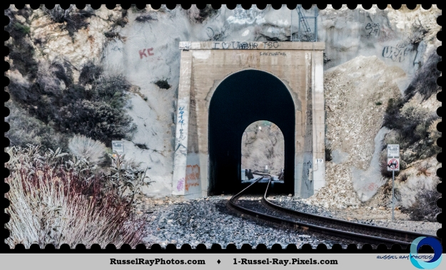 Metrolink railroad tunnel