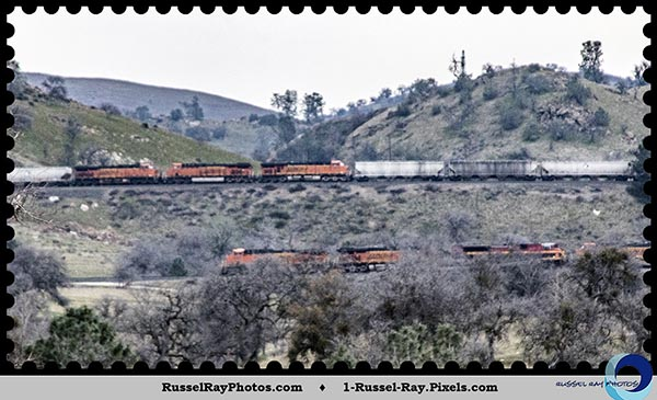 BNSF on the Tehachapi Loop