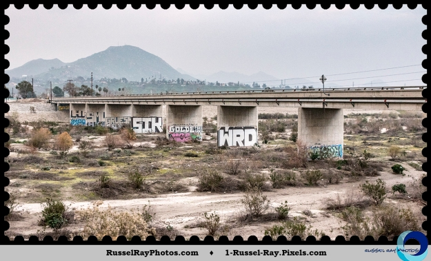 Bridge over the Santa Ana River