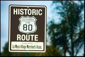 U.S. 80 Historic Route