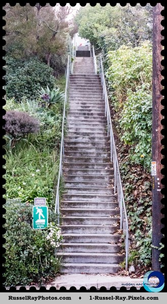 La Mesa secret stairs