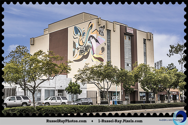 Mural at 3727 El Cajon Boulevard, San Diego, California