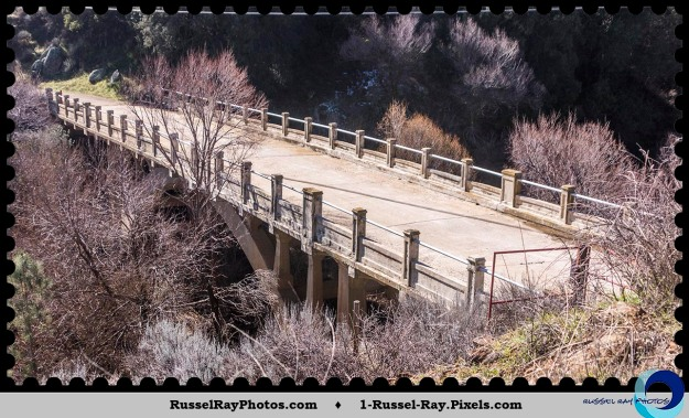 Pine Creek Bridge, Pine Valley, California