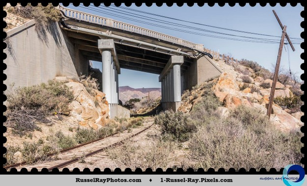 Old Highway 80 bridge over abandoned tracks of the San Diego & Arizona Railroad