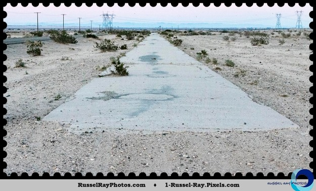 Old Highway 80, 1916 section, east of Ocotillo CA