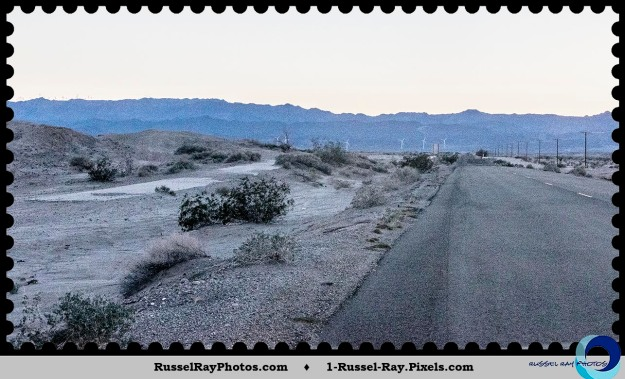 Old Highway 80, 1916 and 1932 sections, east of Ocotillo CA