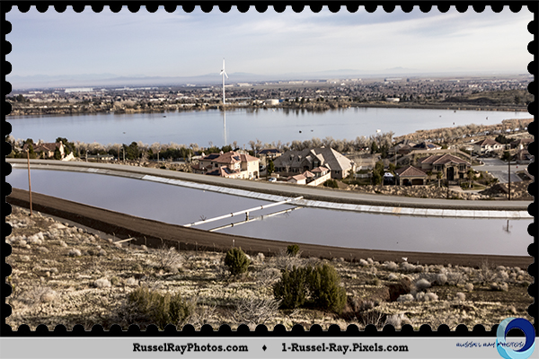 California Aqueduct & Lake Palmdale