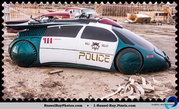 Custom police car