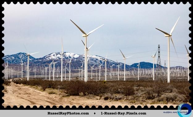 Mojave Desert wind farm