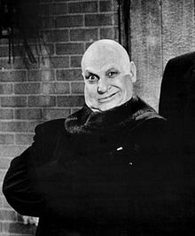 Uncle Fester of The Addams Family