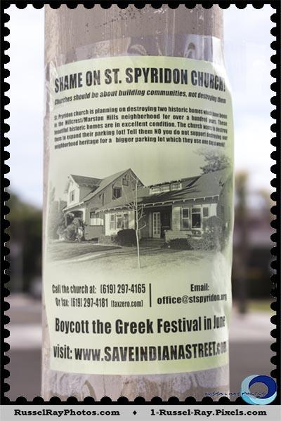 Boycott St. Spyridon's annual Greek Festival
