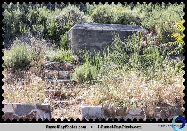 Ruins at Sutherland Dam, Ramona CA