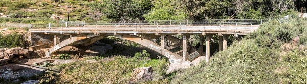 Black Canyon Road bridge built in 1913