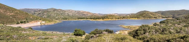 Sutherland Dam & Reservoir, Ramona CA