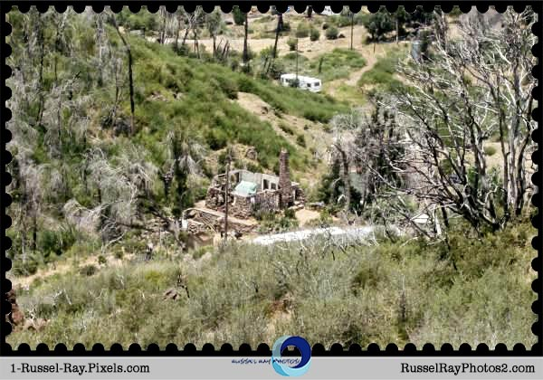 Dyar House ruins, Cuyamaca Rancho State Park, Julian, California