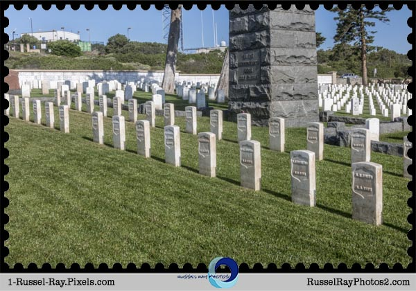 U.S.S. Bennington memorial at Fort Rosecrans National Cemetery, San Diego CA