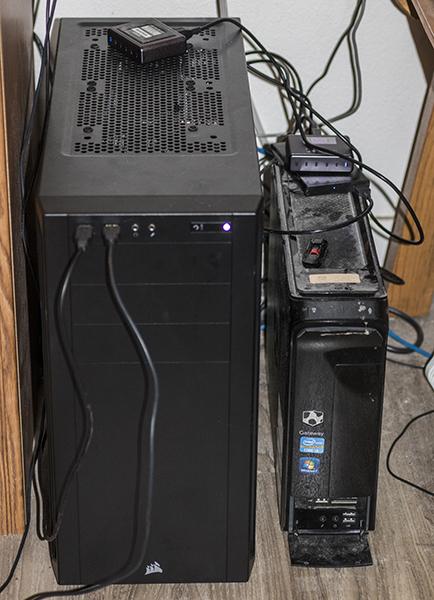 Fine fine fine new super computer compared to old computer