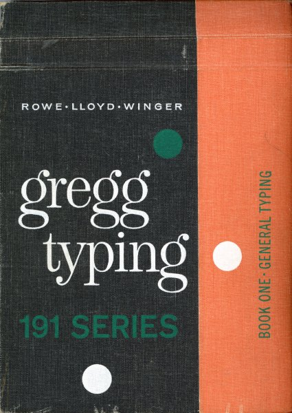 Gregg Typing manual