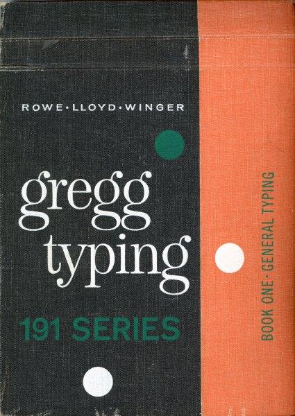 Gregg Typing manual