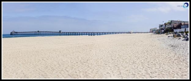 Imperial Beach's clean, wide beach and the Imperial Beach pier
