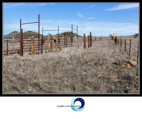 Abandoned cattle chute, Ramona Grasslands Preserve, Ramona CA