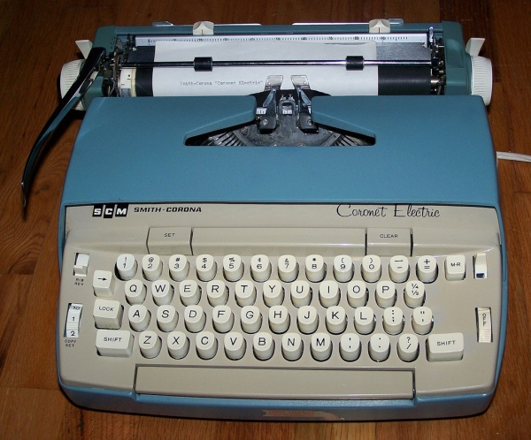 Smith Corona Coronet electric typewriter