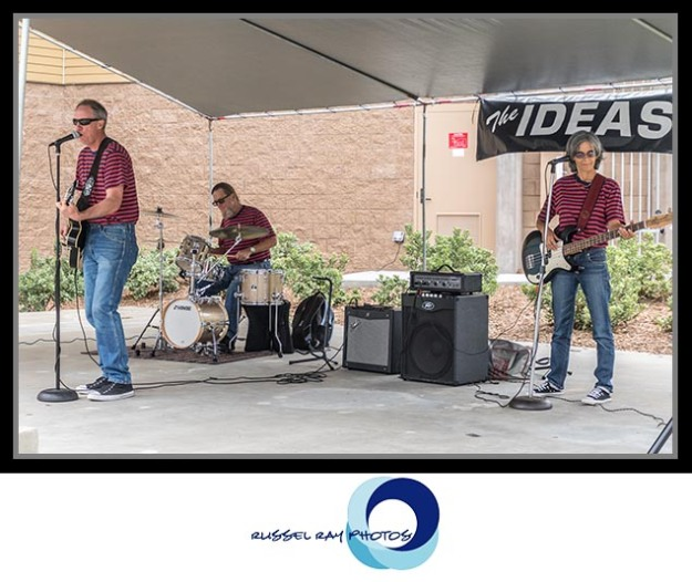 The Ideas Rock 'n' Roll Trio in Alpine, California at the chili cook-off