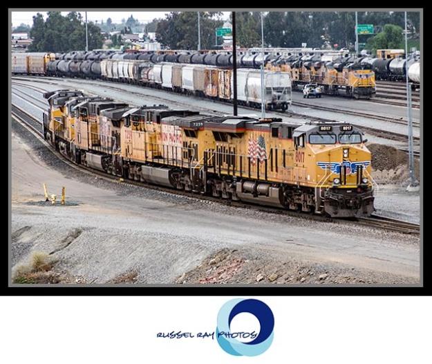 Union Pacific's West Colton Yard