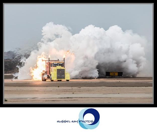 Shockwave Jet Truck at the 2017 MCAS Miramar Air Show