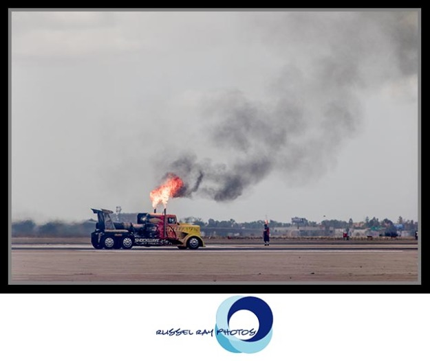 Shockwave Jet Truck at the 2017 MCAS Miramar Air Show