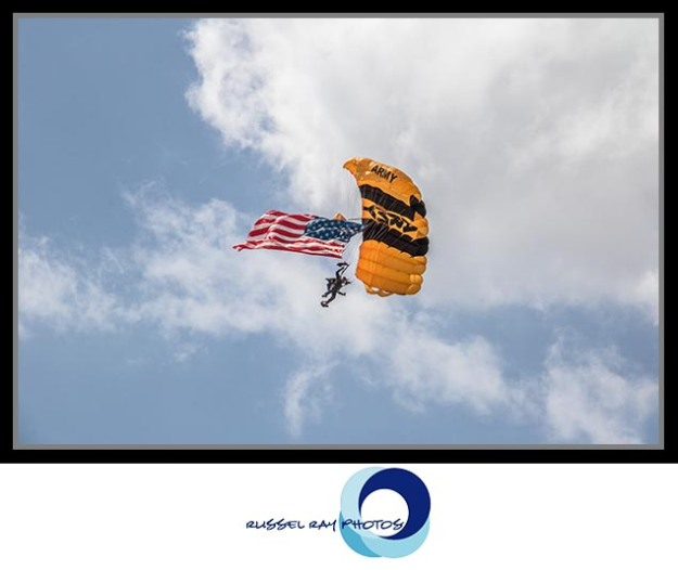 The Golden Knights, the United States Army Parachute Team