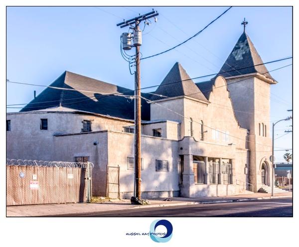 Christian Light Mission Baptist Church los angeles framed