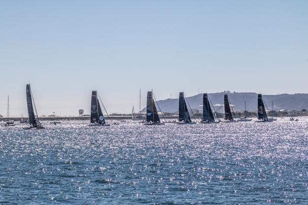 GC32 foiling sailboat