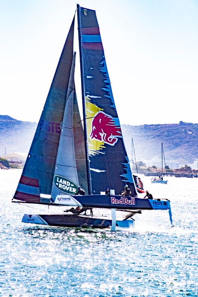GC32 foiling sailboat