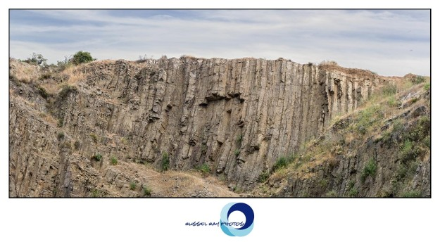 Mount Calavera magma columns