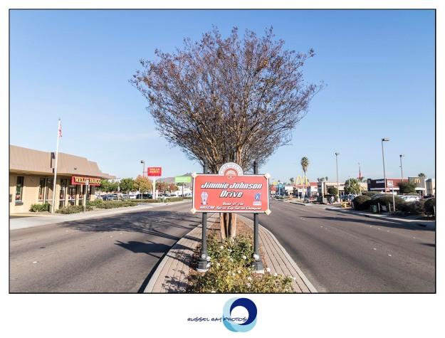 Jimmie Johnson Drive in El Cajon, California