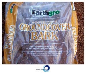 Earthgro decorative groundcover bark