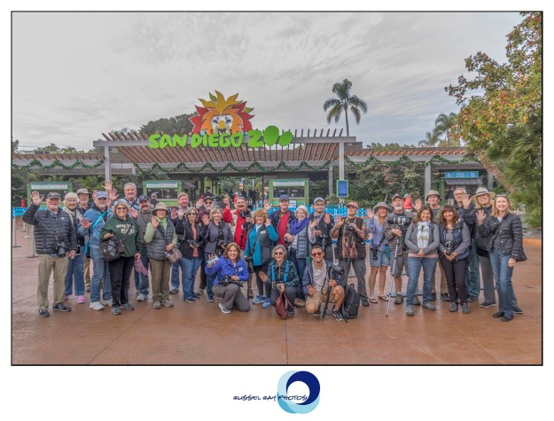 Pacific Photographic Society at the San Diego Zoo on December 31, 2017